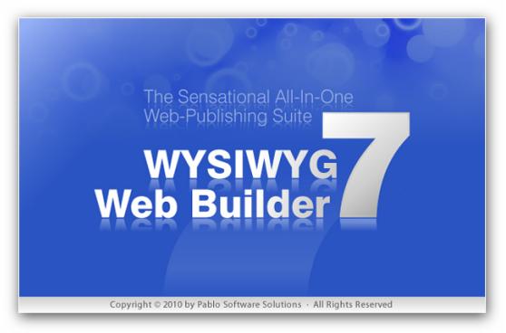 wysiwyg web builder 7.0.2