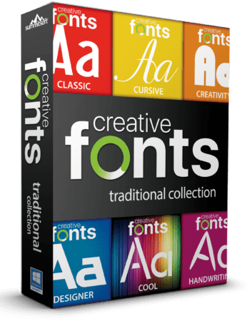 Summitsoft Creative Fonts Collection 2020.1