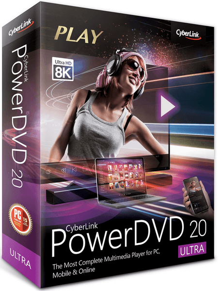CyberLink PowerDVD Ultra 20